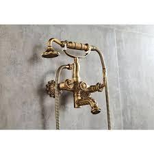 antique brass finish threshold chandelier