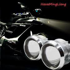 2 Stücke Led Hohe Lumen Motorrad Scheinwerfer 20 Watt H4 H6 High Low 3000lm  Motorrad Hallo Lo Licht Ersetzen Motorsiklet Beleuchtung