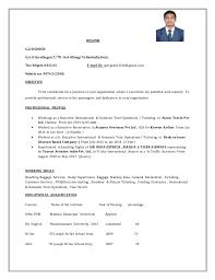 Escort Resume Inspiration 3220 Resume Vignesh