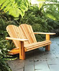 double adirondack chair plans. AW Extra 12/26/13 \u2013 Adirondack Loveseat Double Chair Plans Popular Woodworking Magazine