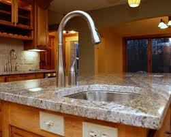 Best Granite Kitchen Sinks How To Install Kitchen Sink With Granite Countertop Best Kitchen