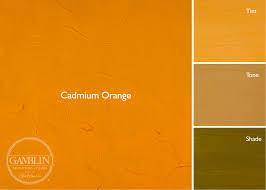 Umber Color Chart 1980 Oil Colors Gamblin Artists Colors
