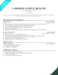 General Resume Form Sample Resume For Maintenance Worker Airexpresscarrier Com