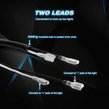 nilight led light bar wiring harness kit 12v relay on off switch nilight led light bar wiring harness kit 12v relay on off switch 2 leads