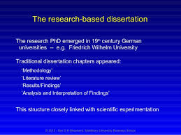 Analysis of results dissertation