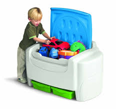 Little Tikes Storage Cabinet Amazoncom Little Tikes Bright N Bold Toy Chest Green Blue