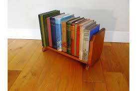 1930s oak book stand desk shelf book slide book ends photo 1