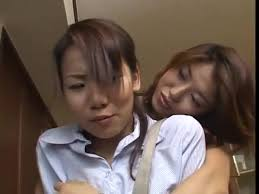 Japanese lesbian tongue sucking