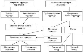 Совершенствование организационной структуры управления на ЗАО  Рисунок 3 Основные виды организационных структур управления и пути их возможных трансформаций в процессе организационного развития 30 с 58