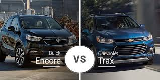 2017 Chevy Trax Towing Capacity Chart Chevy Trax Vs Buick Encore Subcompact People Hauler Battle