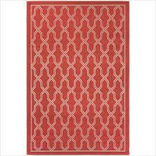 couristan five seasons crystal coast red cream indoor outdoor rug 2 5 x 11 9 runner