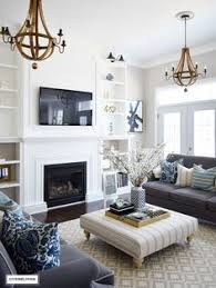 lighting for living rooms. Interior Design Ideas For The Living Room ~ White + Blue Grey Lighting Rooms