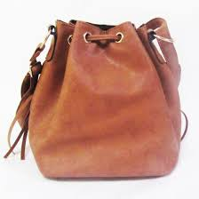 China <b>Lady</b> Fashion Tassel PU Leather <b>Bucket Drawstring Women</b> ...