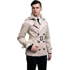 short trench coat men to new designer slim y short trench coat men navy