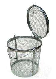mesh_metal_basket_parts_washer_small. Parts Washer Steel Mesh Basket Small  size metal ...