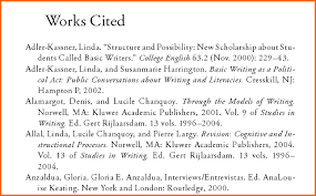 Works Cited Example Apa Works Citd Ohye Mcpgroup Co