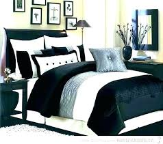 black and white damask comforter sets queen gray