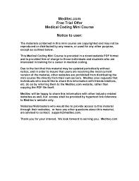 Cover Letter For Medical Billing Specialist Medical Cover Letter
