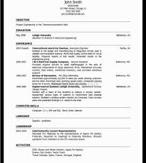 Ieee Resume Format Indian Cv For Freshers Simple Interview Vozmitut