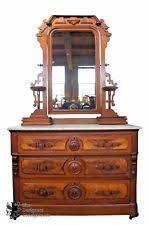 antique marble top dresser with hidden drawer. antique victorian burled walnut marble top dresser \u0026 mirror shaving washstand with hidden drawer l