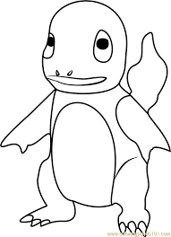 Small Picture Charmander Pokemon GO Coloring Page Free Pokmon GO Coloring