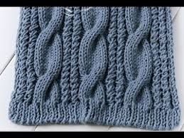 Cable Knit Scarf Pattern Enchanting How To Knit A Cable Scarf YouTube