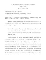 IN THE COURT OF APPEALS OF NORTH CAROLINA No. COA18-665 Filed: 5 February  2019 Mecklenburg County, No. 12 CVS 1017 IVAN MCLAUGHL
