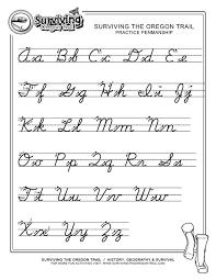 free print alphabet letter worksheets free abcs printable within free printable cursive worksheets