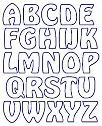 Lettering Stencils To Print Printable Letter Stencils Shared By Dominick Scalsys