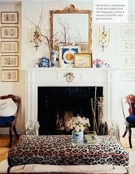 fireplace mantel jessica goranson in lonny mag