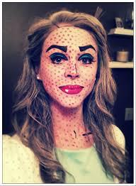 roy lichtenstein makeup