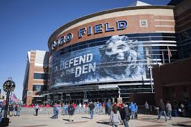 Detroit Lions Home Schedule 2019 Seating Chart
