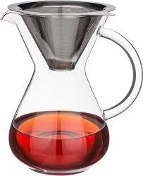 <b>Чайник заварочный Agness</b>, с фильтром, 250-121, прозрачный ...