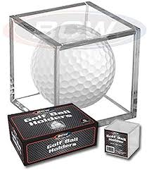 Golf Ball Display Stand Adorable Amazon 32 Golf Ball Display Case Stackable Square Cube
