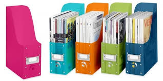 magazine organizers basic home office