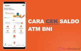 4 Cara Cek Saldo Atm Bni Lewat Hp Sms Internet Mobile Banking