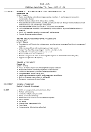 accoutant resumes travel accountant resume samples velvet jobs