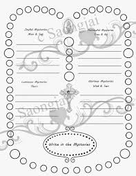 Small Picture Coloring Pages Rosary Mysteries Printouts For Children Printable