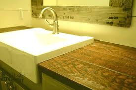 wood look tile countertop ideas by faux countertops t1 wood