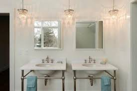chandelier interesting mini for bathroom with ideas 6