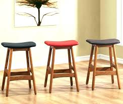 backless leather counter stools chairs swivel stool mode