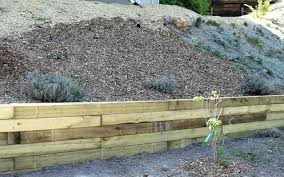 6x6 retaining wall green inch treated landscape timbers 6x6 wood retaining wall cost