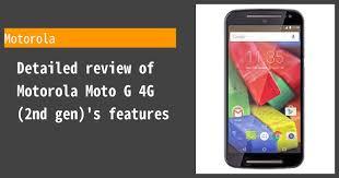 Motorola Moto G 4G (2nd gen) - Features ...