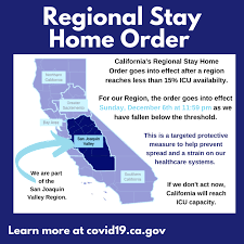 The move by the adjacent counties governed by a single health officer marks the clearest sign of cracks in the statewide lockdown order newsom imposed in the middle of march to help curb the spread of the coronavirus. San Joaquin Valley Issues Stay At Home Order Yourcentralvalley Com