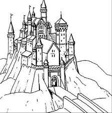 Dessins Coloriage Chateau Princesse Imprimer Voir Le Dessin