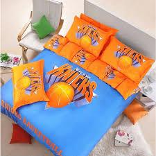 crafty inspiration ideas basketball bed sets new york knicks bedding set ebeddingsets themed twin baseball size cavs
