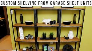 innovative decoration inexpensive wood shelves inexpensive shelving diy wood and metal shelves these sleek industrial shelves