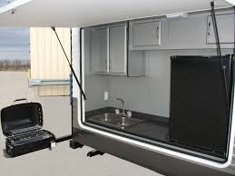 Outside Kitchens Awesome Travel Trailers With Outside Kitchens Outside Kitchen