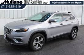 2019 billet silver metallic clearcoat jeep cherokee limited 4 door suv automatic 2 0l i4 dohc