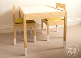 ikea kids table chairs how to up cycle and protect childrens australia ikea kids table